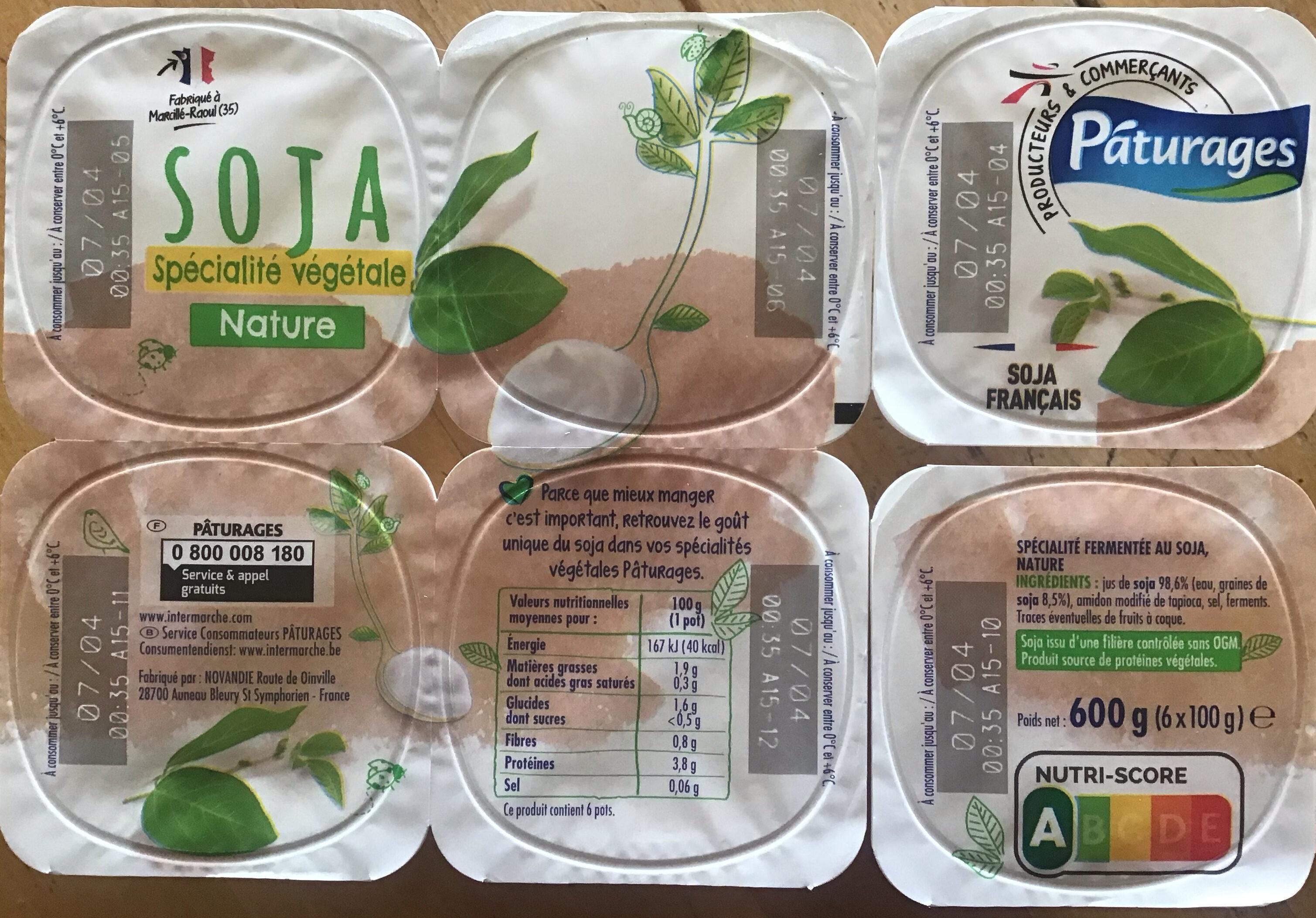 Soja nature - spécialité végétale - Prodotto - fr