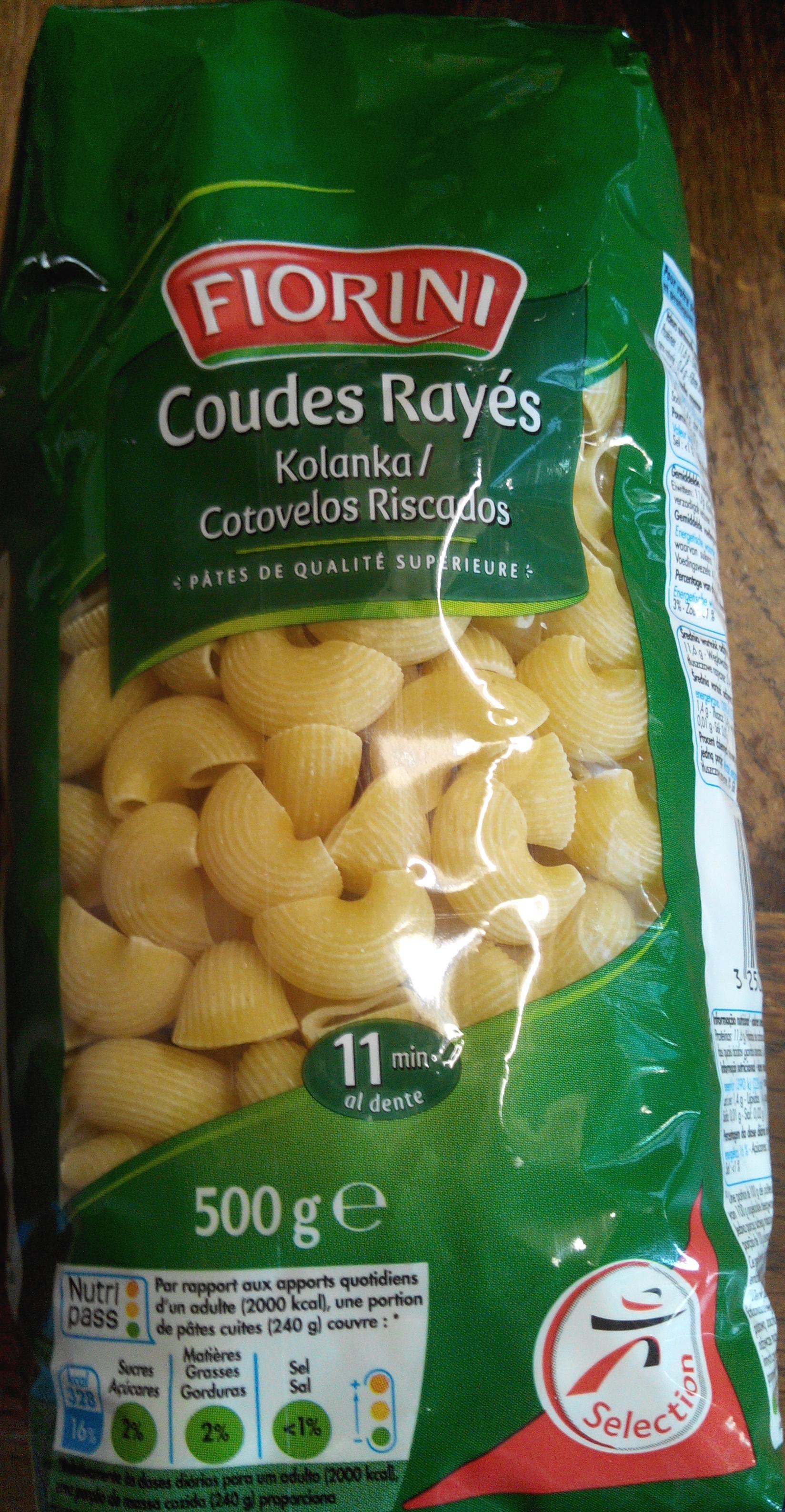 Coudes Rayés (Pâtes de qualité supérieure) - Product