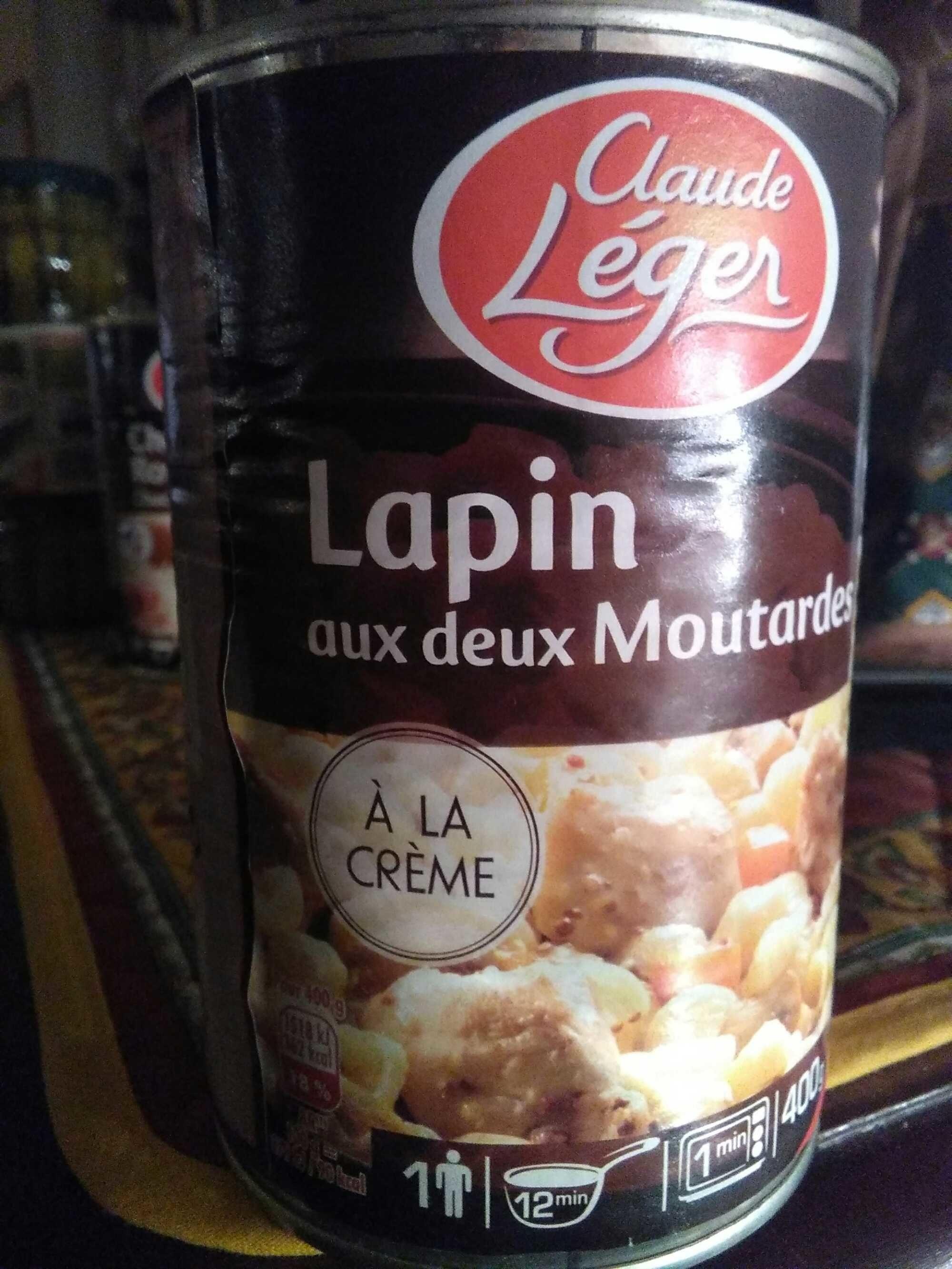 C.leg Lapin aux deux moutardes - Produit