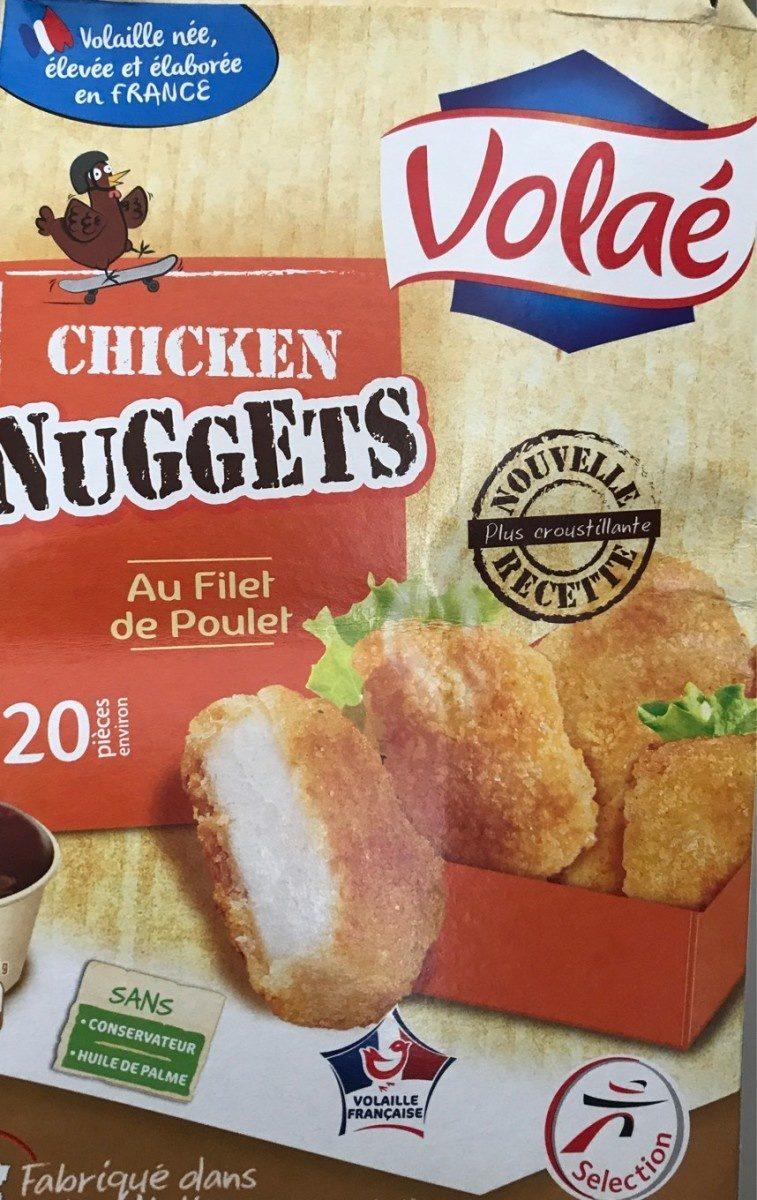 Chicken Nuggets au filet de poulet - Product - fr