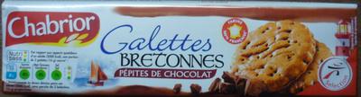 Galettes bretonnes pépites de chocolat - Produit - fr