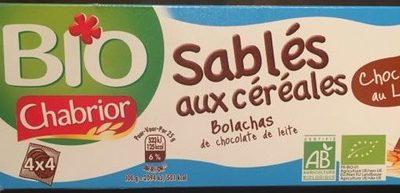 Sablés aux céréales chocolat au lait - Product - fr
