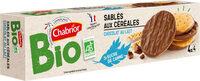 Sablés aux céréales chocolat au lait BIO - Product - fr