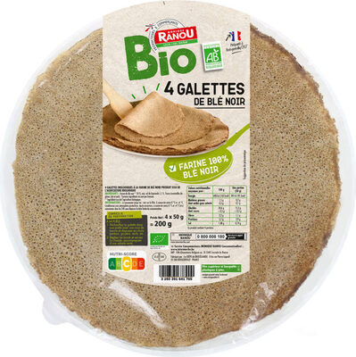 Galettes de blé noir bio - Produit - fr