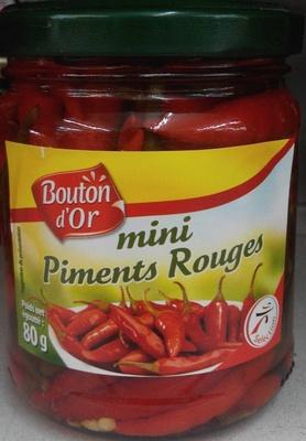 Mini piments rouges - Product