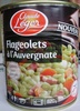 Flageolets à l'Auvergnate - Cuisinés aux lardons - Product