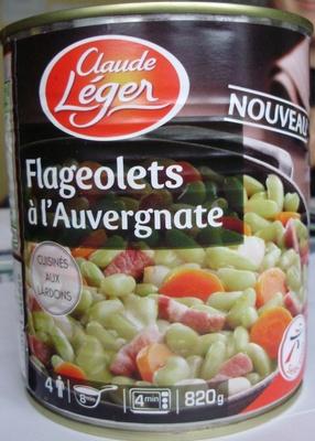 Flageolets à l'Auvergnate - Cuisinés aux lardons - Produit - fr