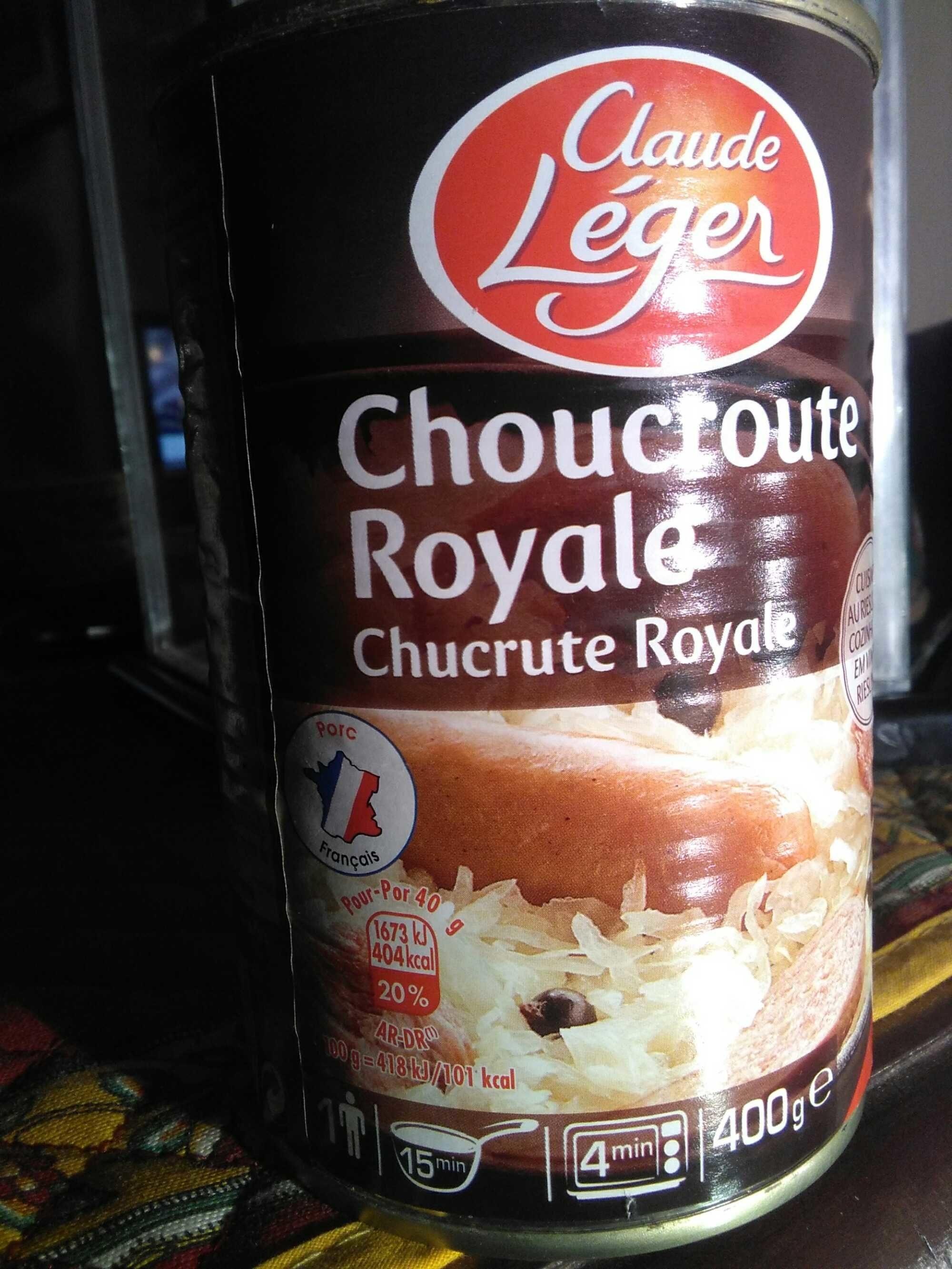 Choucroute Royale - Produit