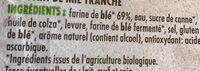 Grand Mie - Ingrediënten - fr