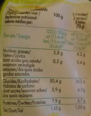 Grand Mie - Voedingswaarden