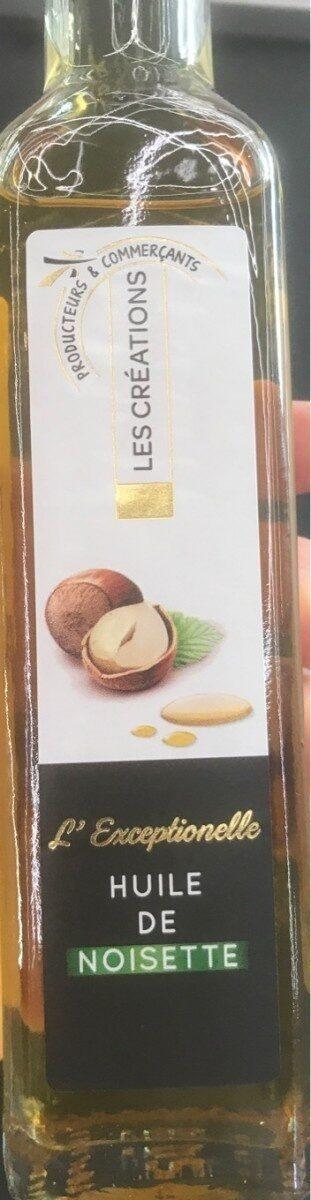 L'exceptionnelle huile de noisette - Produit - fr