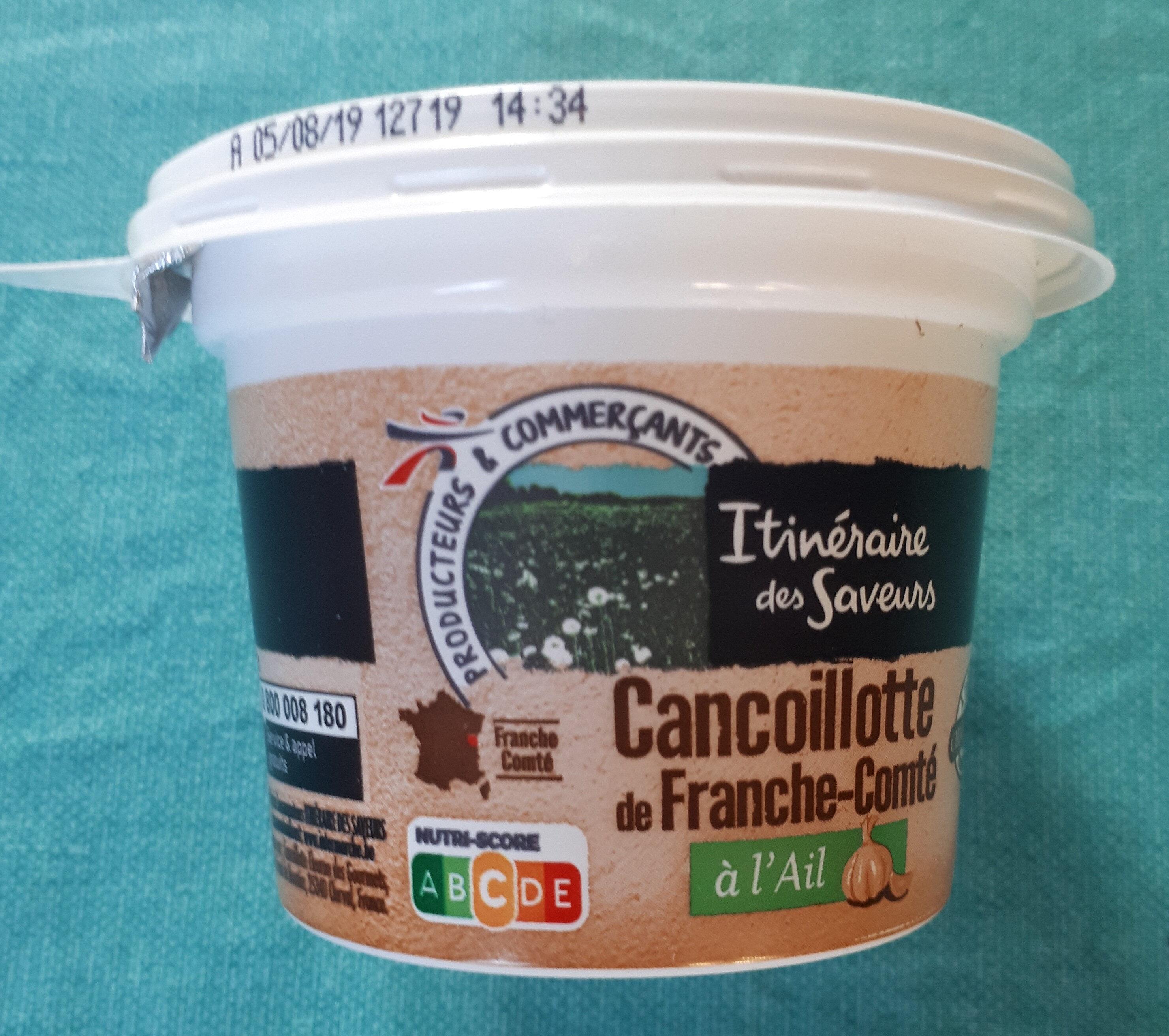 Cancoillotte de Franche Comte a l'ail, le pot de - Product - fr