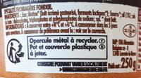 Cancoillotte de Franche Comte a l'ail, le pot de - Ingredients - fr