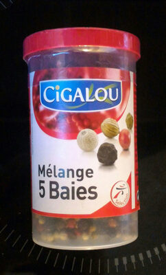 Cigalou, Melange de 5 baies, le pot de - Produit