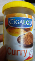 Cigalou, Curry, melange d'epices, le pot de - Product