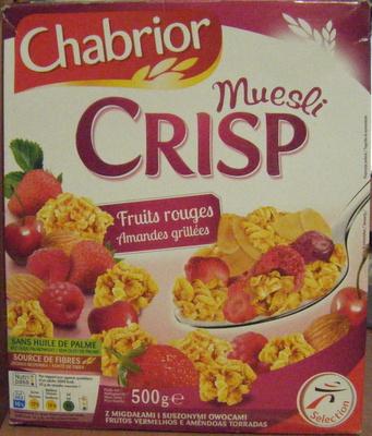 Muesli CRISP Fruits rouges Amandes grillées - Product