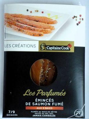 Émincés de saumon fumé aux 5 baies - Product