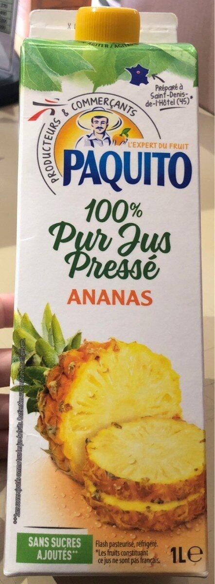 100% Pur Jus Pressé Ananas - Produit