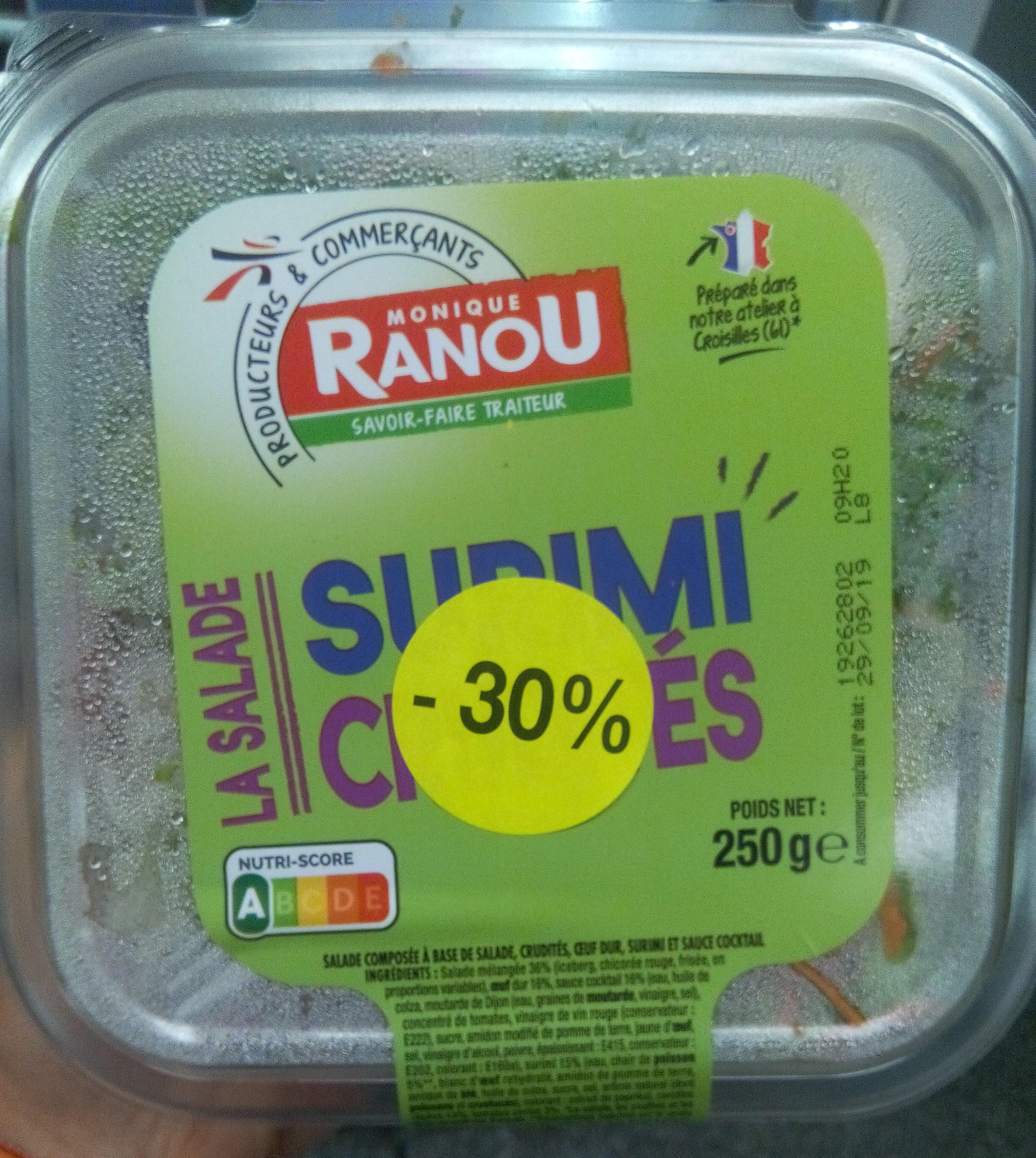 Salade Surimi Crudités - Product
