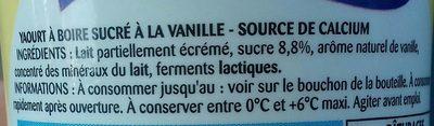 Paturages Yab Sav.vanille - Ingrédients