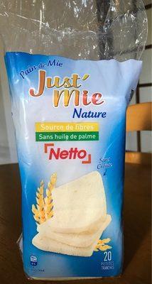 Just'Mie nature - Produit