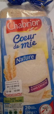Coeur de mie nature - Product - fr