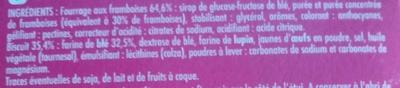 non renseignée - Ingrédients - fr