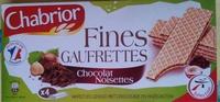 Gaufrettes chocolat noisettes - Product