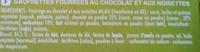 Gaufrettes chocolat noisettes - Ingredients
