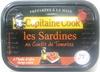 Les Sardines au confit de tomates, à l'huile d'olive vierge extra - Produit