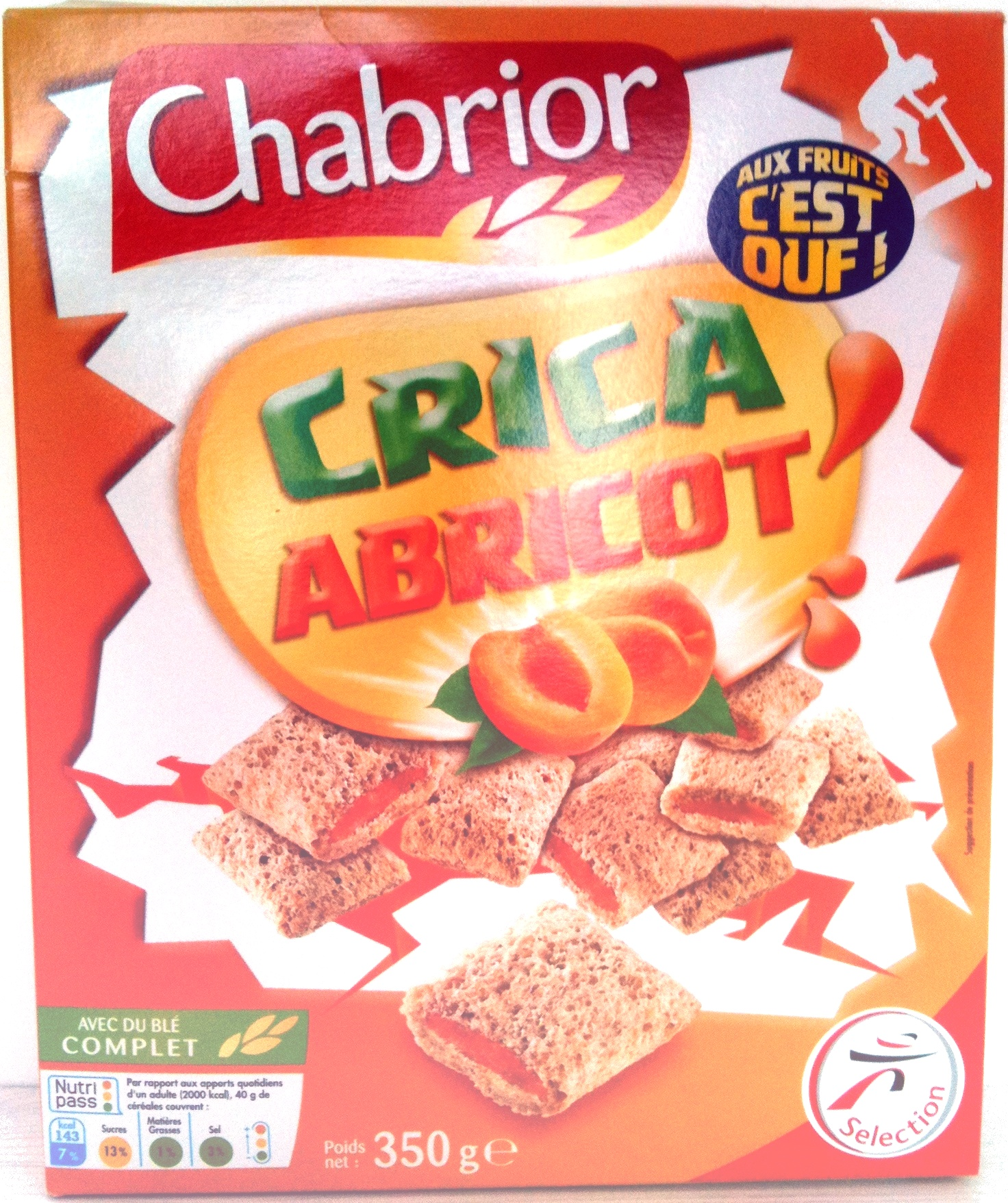 Crica Abricot - Produit - fr