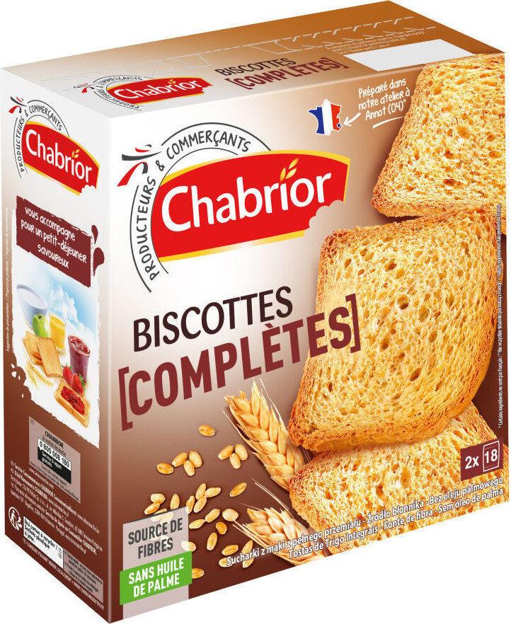 Biscottes complètes - Product - fr