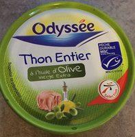 Thon entier à l'huile d'olive vierge extra - Produit
