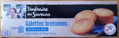 Galettes bretonnes - Au beurre - Spécialité de Pont-Aven - Produit - fr