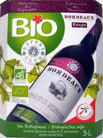 Vin Bordeaux Rouge Bio AOP Expert Club - Product