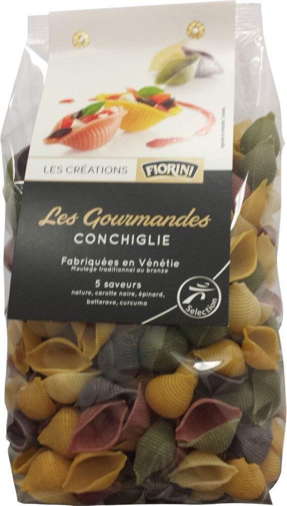 Les Gourmandes Conchiglie 5 saveurs - Produit - fr