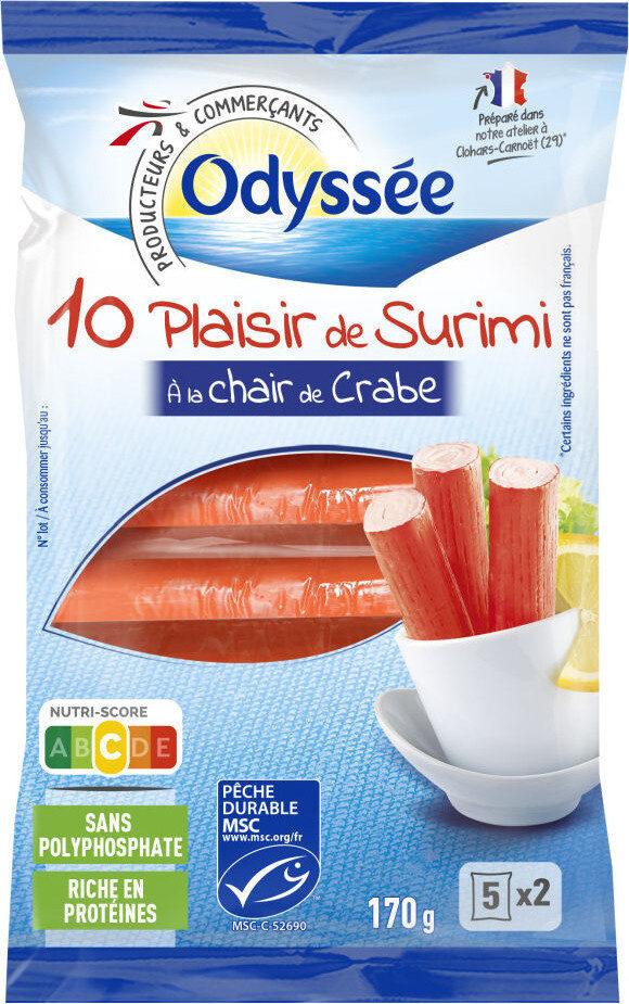 Plaisir de surimi à la chair de crabe - Produit - fr