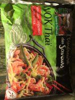 Wok Thai Nouilles,légumes et crevettes - Produit - fr