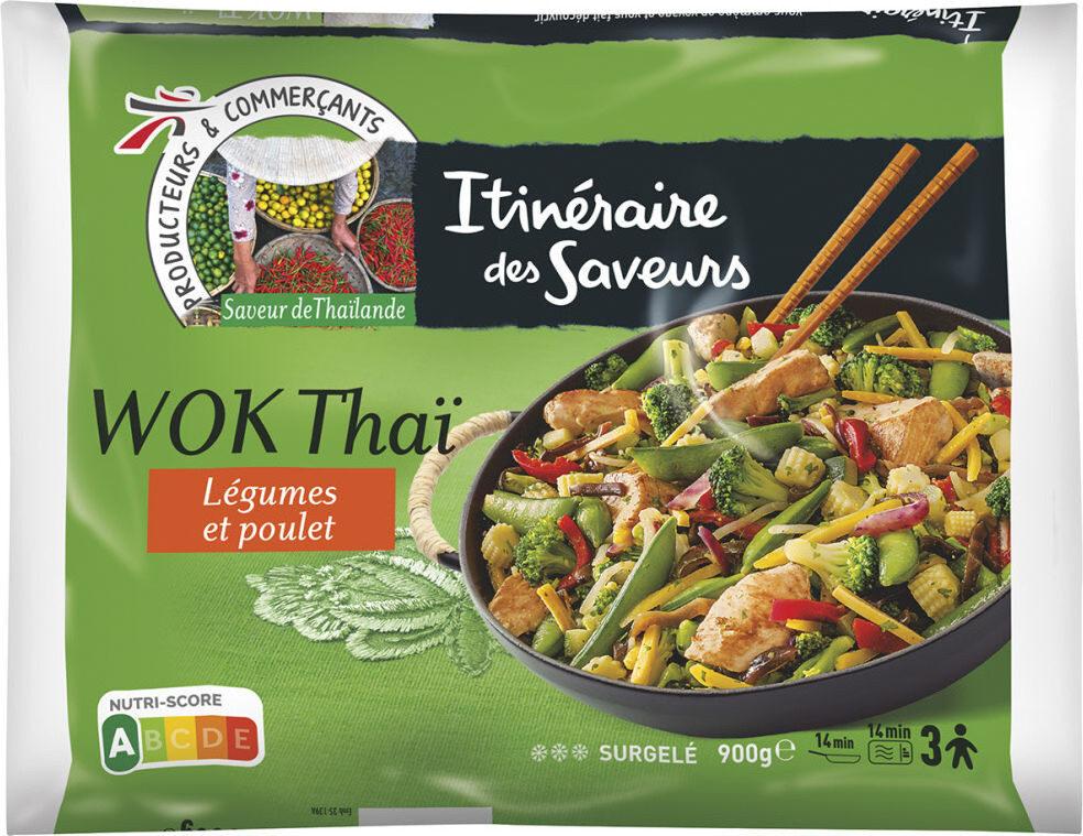 Wok thaï légumes et poulet - Prodotto - fr