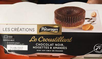 Croustillant au Chocolat Noir, Noisettes & Amandes - Produit - fr