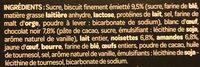 Croustillant au Chocolat Noir, Noisettes & Amandes - Ingrédients - fr