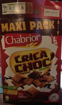 Chabrior Maxi Pack Crica Choc' Chocolat Noisette - Produit - fr