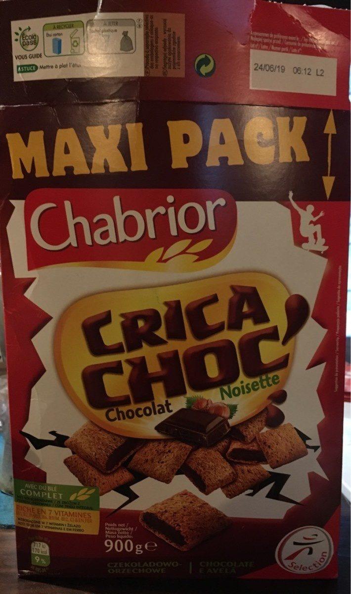 Chabrior Maxi Pack Crica Choc' Chocolat Noisette - Product