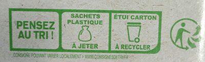 Galettes bretonnes pur beurre bio - Istruzioni per il riciclaggio e/o informazioni sull'imballaggio - fr