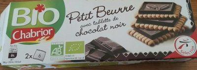 Petit Beurre avec Tablette de Chocolat Noir Bio - Product