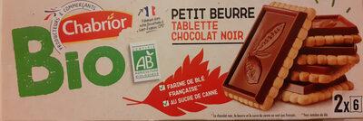Petit Beurre avec Tablette de Chocolat Noir Bio - Product - fr
