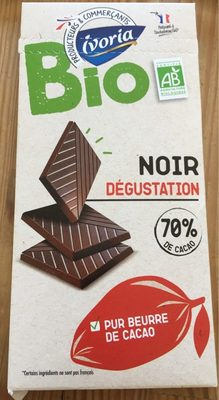 Chocolat noir bio 70% - Produit - fr