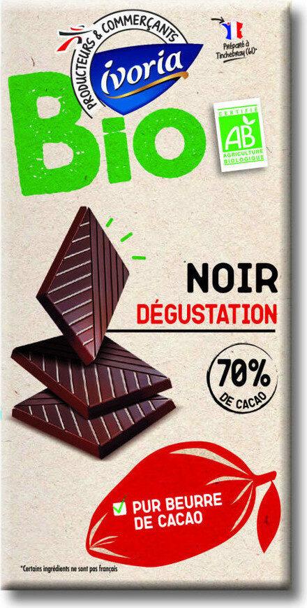 Noir dégustation  70% de cacao BIO - Prodotto - fr