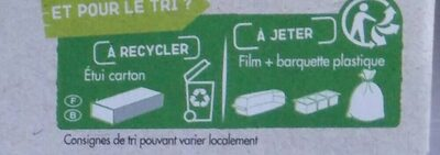 Cookies aux pépites de chocolat BIO - Recycling instructions and/or packaging information - fr