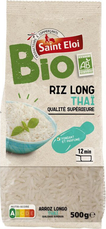 Riz long thaï bio - Prodotto - fr